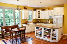 Country Interior - Kitchen Plan #929-700