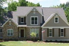 House Plan Design - Country Exterior - Front Elevation Plan #927-878