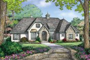 Country Style House Plan - 3 Beds 2.5 Baths 1833 Sq/Ft Plan #929-985 Exterior - Front Elevation