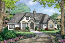 Country Exterior - Front Elevation Plan #929-985