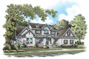 Country Style House Plan - 5 Beds 4.5 Baths 3215 Sq/Ft Plan #929-831 Exterior - Front Elevation