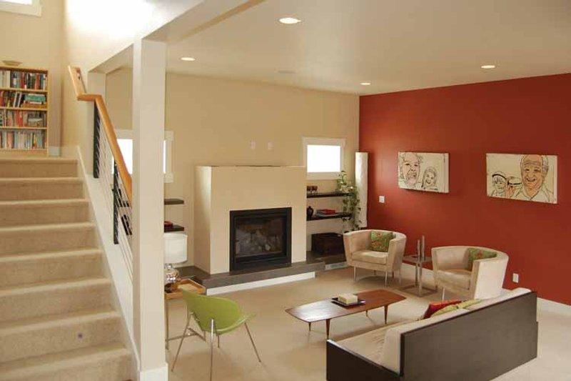 Prairie Interior - Family Room Plan #895-62 - Houseplans.com