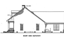 Home Plan - Southern Exterior - Other Elevation Plan #45-134