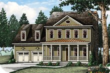 Traditional Exterior - Front Elevation Plan #927-955