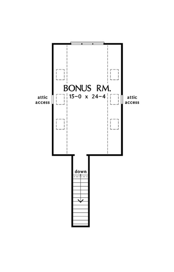 Ranch Floor Plan - Other Floor Plan Plan #929-1011