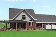 Country Style House Plan - 3 Beds 2.5 Baths 2252 Sq/Ft Plan #75-104 Exterior - Front Elevation