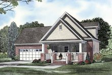 Traditional Exterior - Front Elevation Plan #17-3263