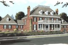 Dream House Plan - Colonial Exterior - Front Elevation Plan #20-1683