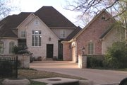 European Style House Plan - 3 Beds 4 Baths 3562 Sq/Ft Plan #408-106 Exterior - Front Elevation