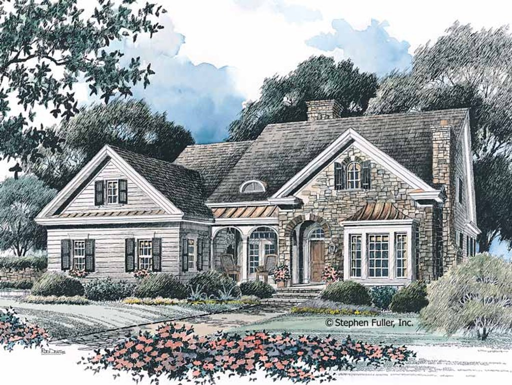 Country style house plan 4 beds 3 baths 2170 sq ft plan for 429 plan