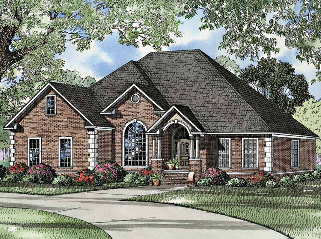 Ranch style house plan 4 beds 3 baths 2486 sq ft plan for Home plan com