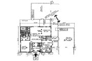 Colonial Style House Plan - 4 Beds 3.5 Baths 2270 Sq/Ft Plan #315-109 Floor Plan - Main Floor