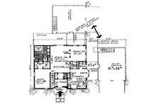 Colonial Floor Plan - Main Floor Plan Plan #315-109