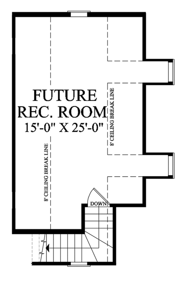 Traditional Floor Plan - Other Floor Plan #137-367