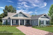 Country Style House Plan - 3 Beds 3.5 Baths 2900 Sq/Ft Plan #930-467 Exterior - Front Elevation
