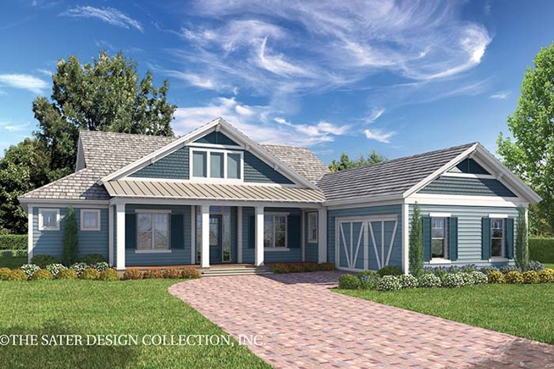 Country Exterior - Front Elevation Plan #930-467 - Houseplans.com