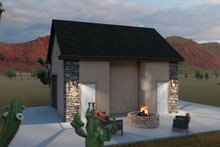 House Plan Design - Country Exterior - Other Elevation Plan #1060-90