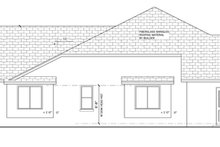 Home Plan - Mediterranean Exterior - Other Elevation Plan #1058-44