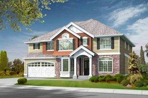 Craftsman Exterior - Front Elevation Plan #132-376