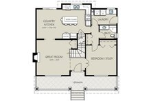 Traditional Floor Plan - Main Floor Plan Plan #18-286