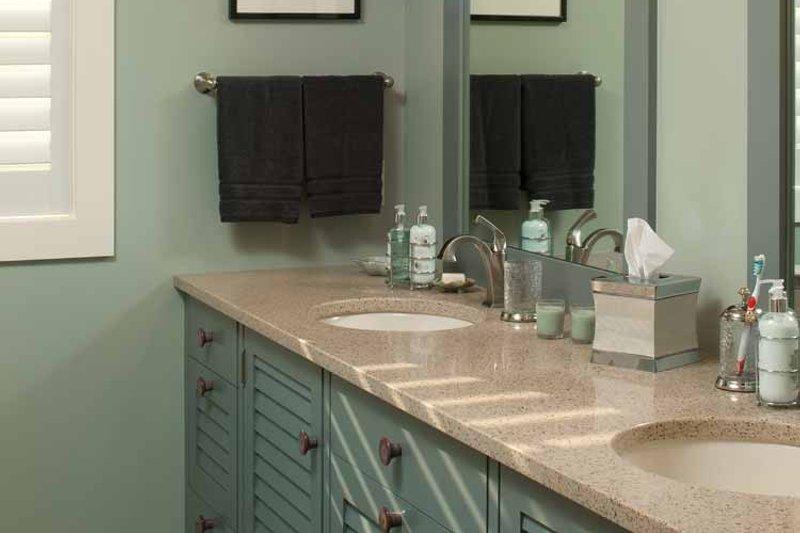 Country Interior - Master Bathroom Plan #928-216 - Houseplans.com