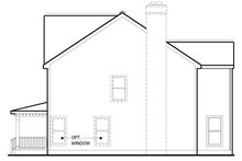 Colonial Exterior - Other Elevation Plan #1053-69