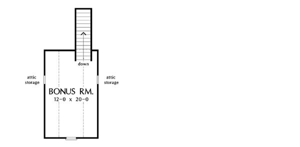 Craftsman Style House Plan - 3 Beds 2 Baths 1473 Sq/Ft Plan #929-428 Floor Plan - Other Floor Plan