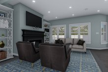 Dream House Plan - Craftsman Interior - Family Room Plan #1060-66