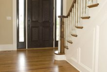 House Plan Design - Classical Interior - Entry Plan #137-301