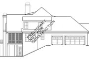 European Style House Plan - 4 Beds 4 Baths 3795 Sq/Ft Plan #927-400 Exterior - Other Elevation