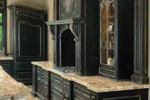 House Design - Tudor Interior - Kitchen Plan #928-61