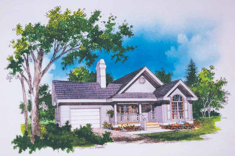 Ranch Exterior - Front Elevation Plan #929-234 - Houseplans.com