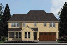 Dream House Plan - Colonial Exterior - Rear Elevation Plan #48-870