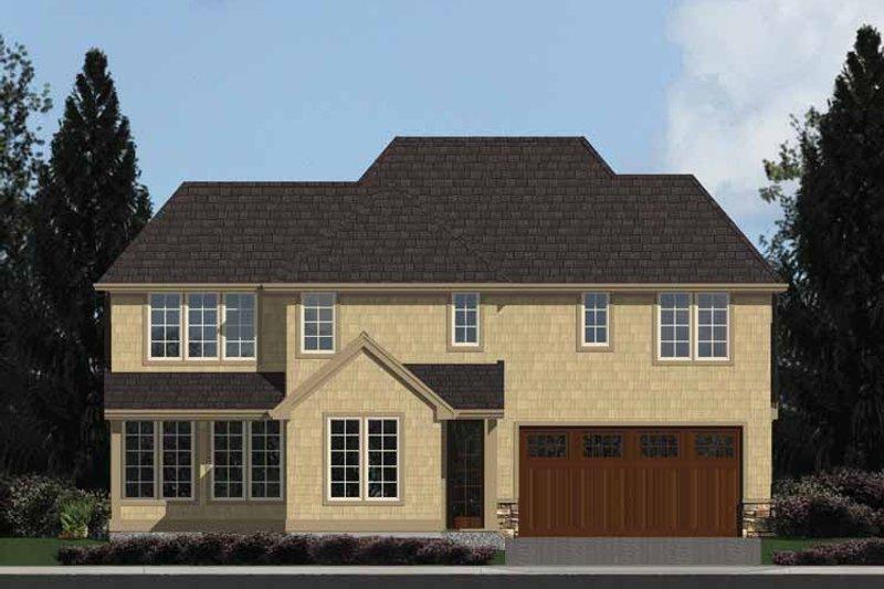 Colonial Exterior - Rear Elevation Plan #48-870 - Houseplans.com