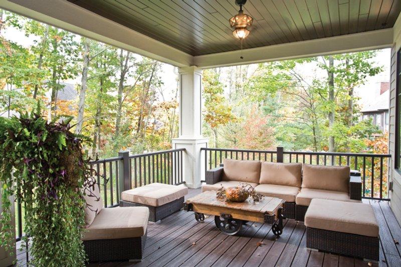 Traditional Exterior - Rear Elevation Plan #928-271 - Houseplans.com