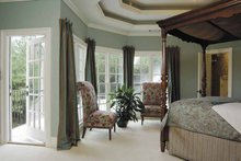 Architectural House Design - Colonial Interior - Master Bedroom Plan #930-220