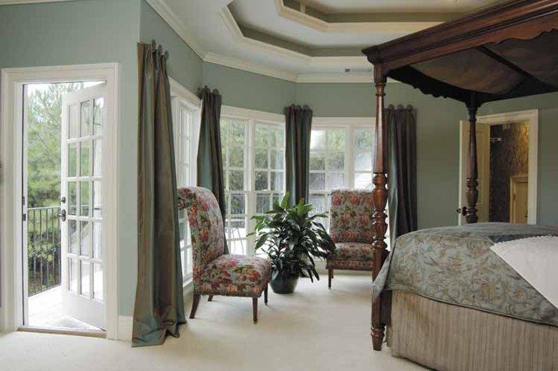 Colonial Interior - Master Bedroom Plan #930-220 - Houseplans.com