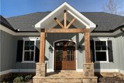 Craftsman Style House Plan - 3 Beds 3.5 Baths 3526 Sq/Ft Plan #437-95 Exterior - Front Elevation
