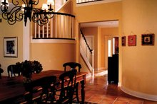 House Plan Design - Traditional Interior - Entry Plan #928-46