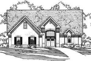 House Design - European Exterior - Front Elevation Plan #31-117