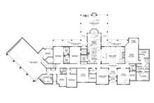 European Floor Plan - Main Floor Plan Plan #17-3347