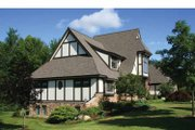 Tudor Style House Plan - 4 Beds 3.5 Baths 4940 Sq/Ft Plan #928-27 Exterior - Other Elevation