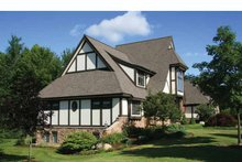 Tudor Exterior - Other Elevation Plan #928-27