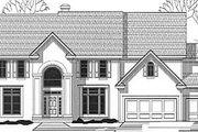 European Style House Plan - 4 Beds 4.5 Baths 4196 Sq/Ft Plan #67-619
