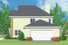 House Blueprint - Country Exterior - Other Elevation Plan #72-1102