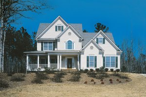 Dream House Plan - Country Exterior - Front Elevation Plan #927-109