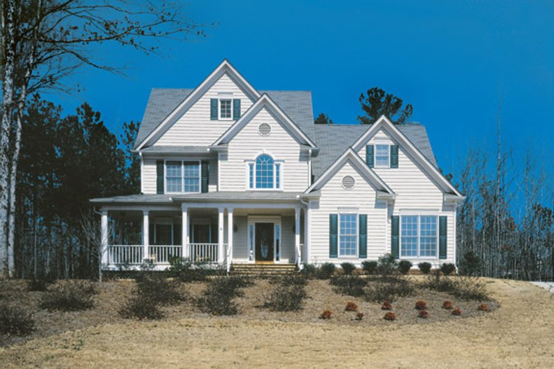 House Plan Design - Country Exterior - Front Elevation Plan #927-109