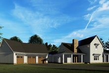 Country Exterior - Rear Elevation Plan #923-134