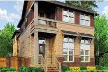 Cottage Exterior - Front Elevation Plan #48-265