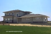 Prairie Style House Plan - 4 Beds 3.5 Baths 2900 Sq/Ft Plan #1069-10 Exterior - Other Elevation